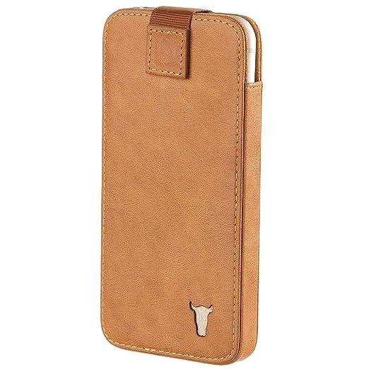 4 opinioni per iPhone 6S Plus Custodia, Pelle. Pregiata vera pelle Custodia, sacchetto,