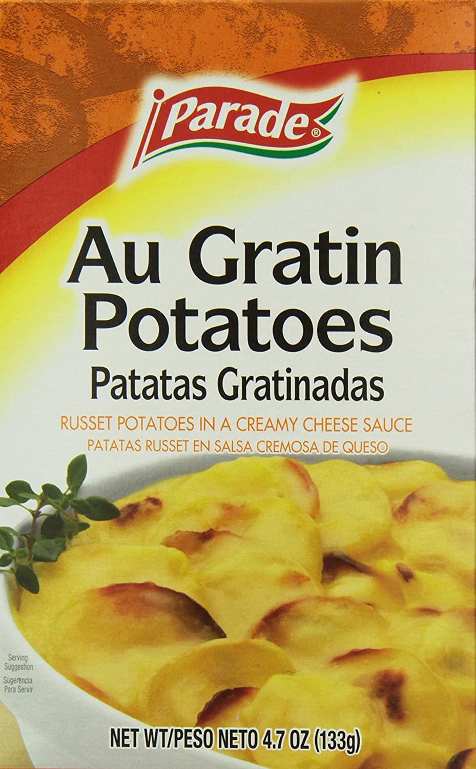 Amazon.com : Parade Au Gratin Potatoes, 4.7 Ounce (Pack of 12) : Grocery & Gourmet Food