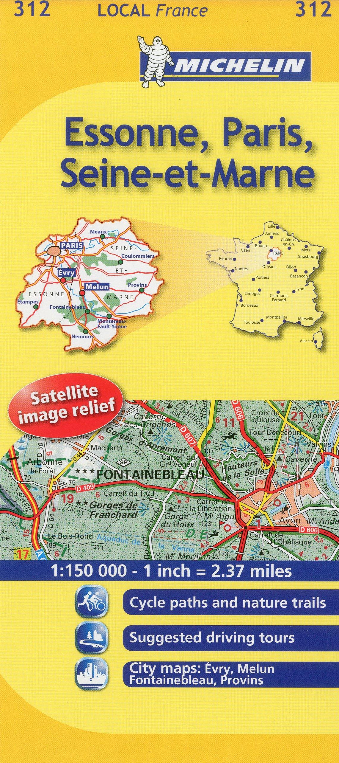 Mapa Local Essone, Paris, Seine-et-Marne Mapas Local Michelin: Amazon.es: Michelin Travel Publications: Libros en idiomas extranjeros