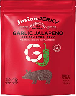 product image for Fusion Jerky Garlic Jalapeno Pork Jerky 4 Pack 2.75oz each)