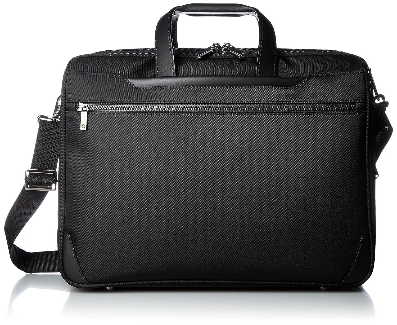 [エースジーン] ビジネスバッグ ディバイダー アクシス 43cm B4 2気室 エキスパンダブル 30446 B01MTBYOELブラック