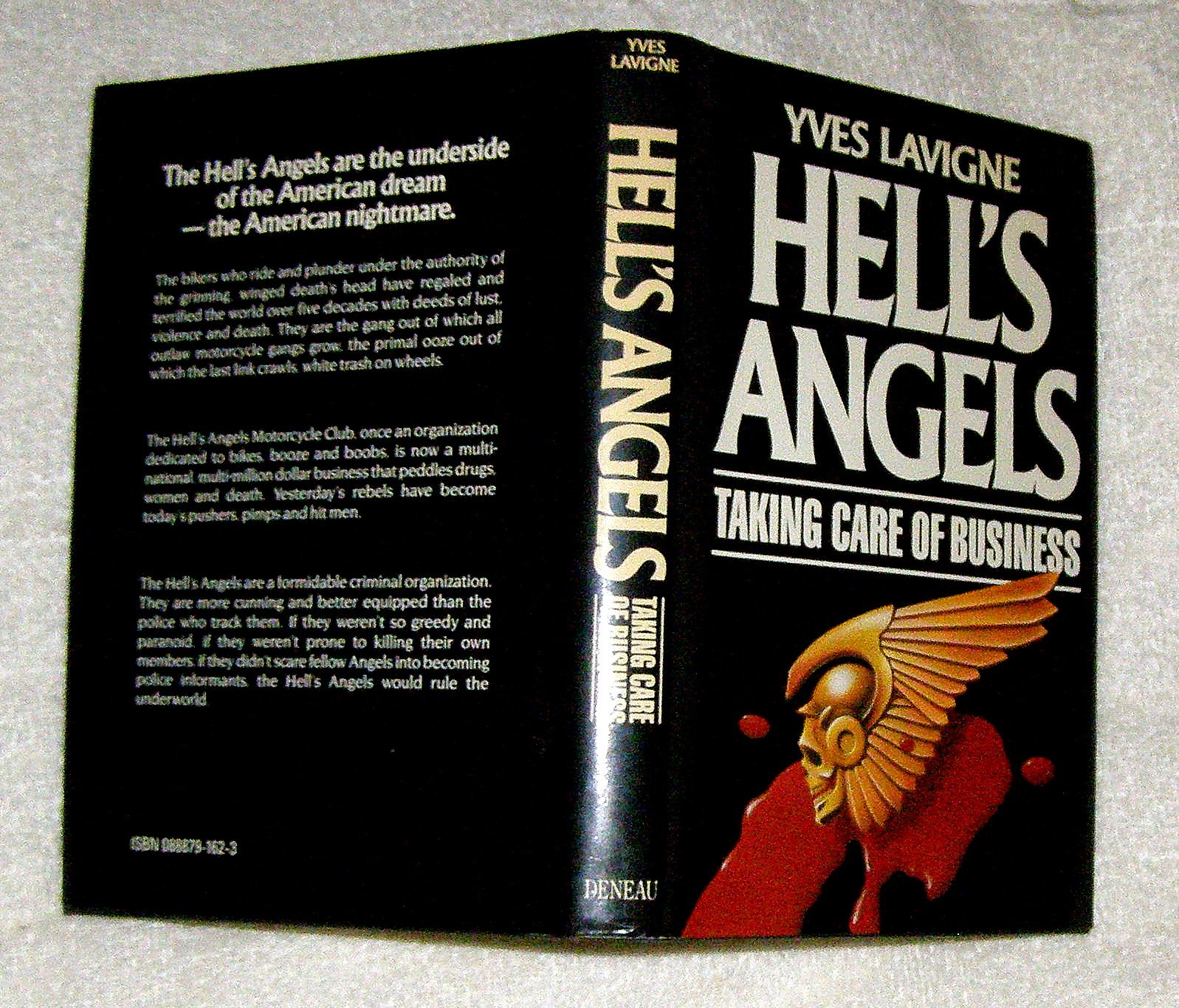 Hell's Angels: Taking care of business: Yves Lavigne: 9780888791627