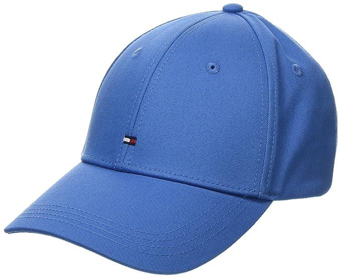 eac71abf Tommy Hilfiger Unisex Adult Classic Baseball Cap, Regatta Blue One Size  Regatta Blue at Amazon Men's Clothing store: