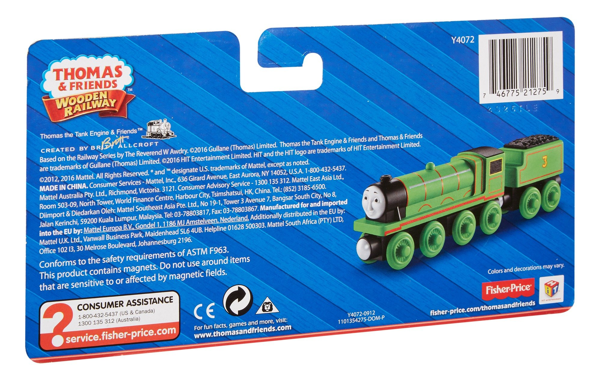 Thomas & Friends Fisher-Price Wooden Railway, Henry