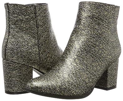 Vmtulle Boot, Botas para Mujer, Gris (Asphalt), 39 EU Vero Moda