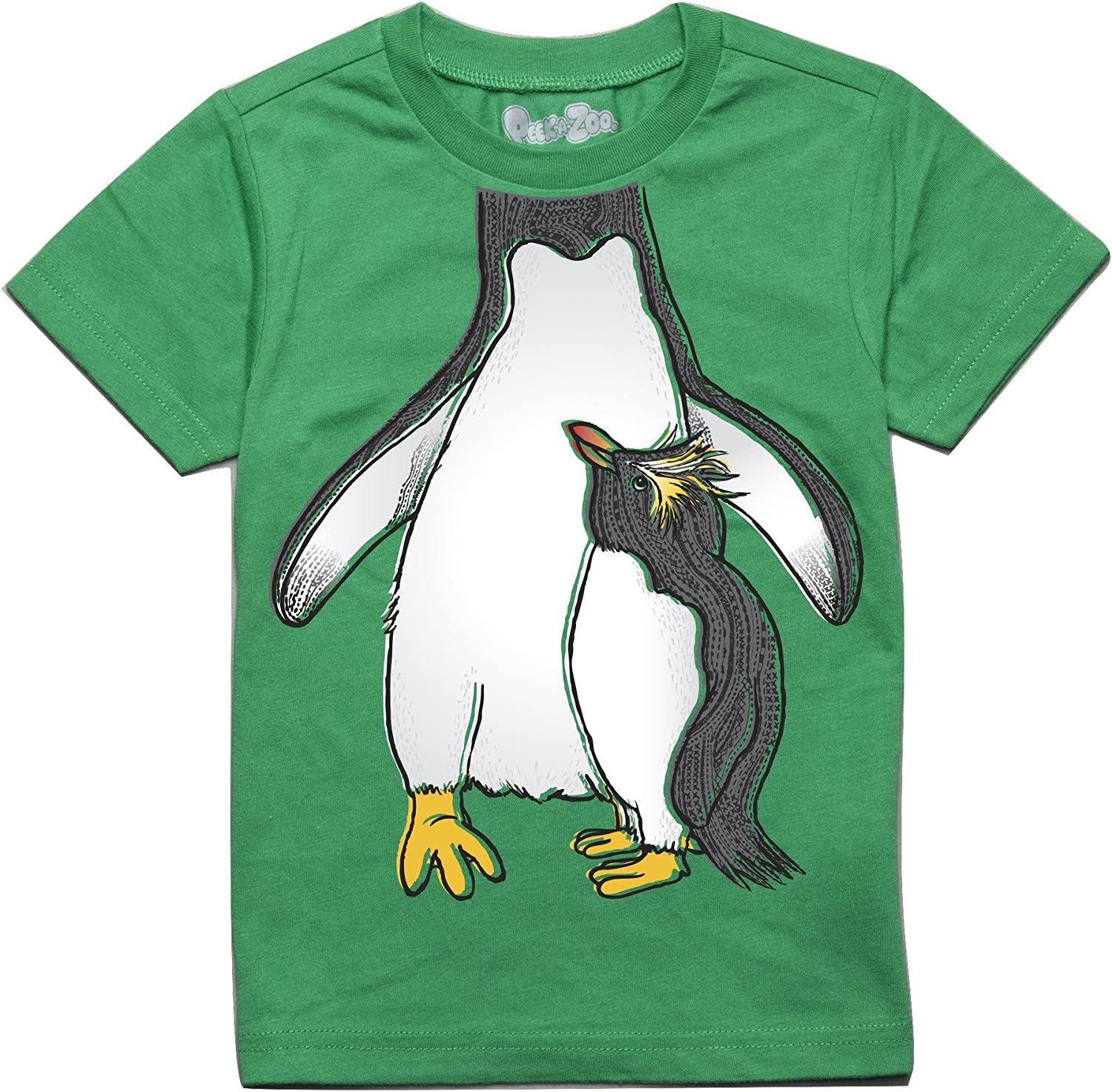 Peek-A-Zoo Become a Water Animal or Character Super Soft Short Sleeve Tee for Baby, Infant + Toddler (0/6M-6T)