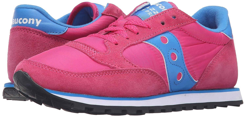 Saucony Originals B0189PGF88 Women's Jazz Low Pro Sneaker B0189PGF88 Originals 7 B(M) US|Pink/Blue a26de2