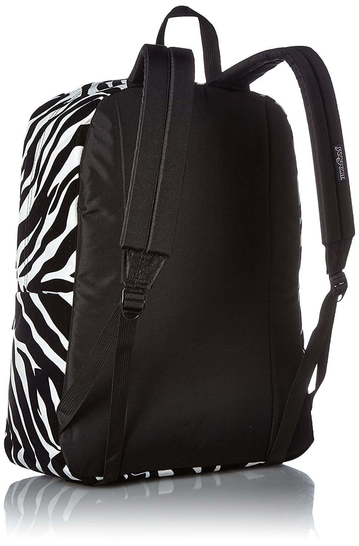 Amazon.com  JanSport High Stakes Backpack Black Miss Zebra Flock  Computers    Accessories b47df3679655d