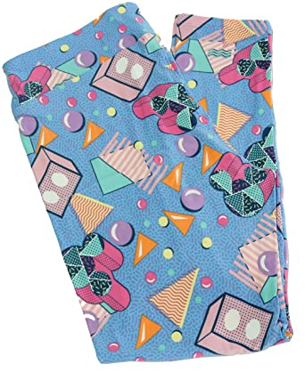 66866bcb86cba8 Mystery Disney Collection LulaRoe Mystery Tall and Curvy Leggings at Amazon  Women's Clothing store: