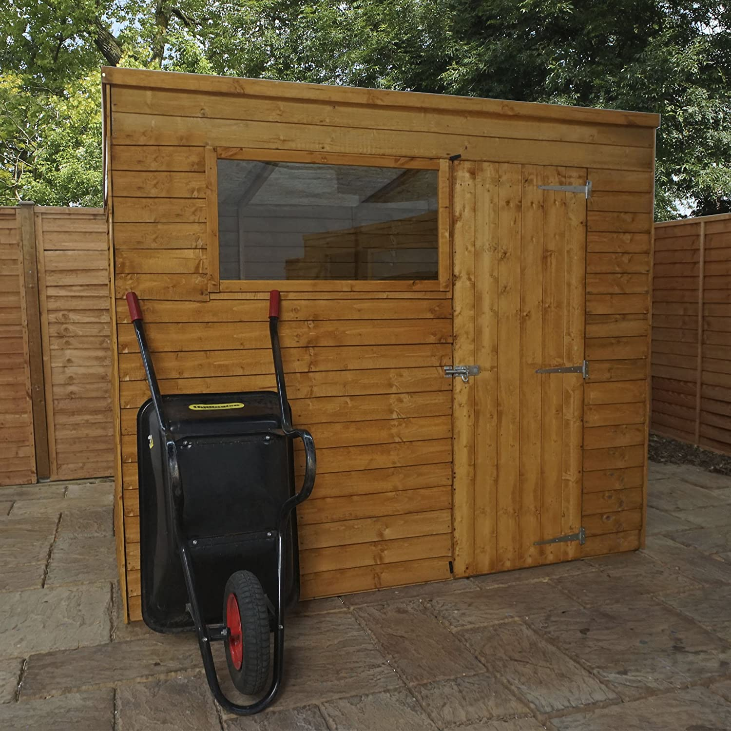 free shed reduction express product uk osb solid garden sheds wooden sat delivery x overlap windowless flash apex escape floor with door single value