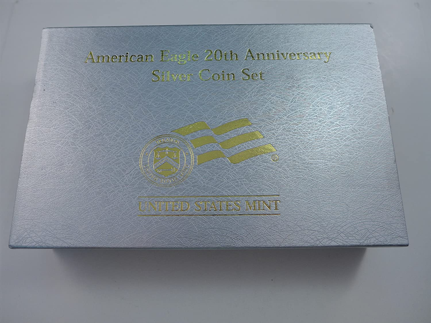 2006 American Eagle 20th Anniversary Silver Coin Set 3 Coins Proof and Reverse Proof Mint State
