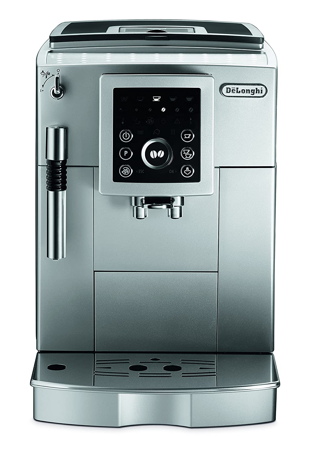 91QzeZZdmzL._SL1500_ amazon com delonghi ecam23210sb super automatic coffee machine  at edmiracle.co