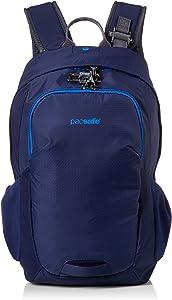 "PacSafe Venturesafe G3 15 Liter Anti Theft Travel Backpack/Daypack-Fits 17"" Laptop, Lakeside Blue"