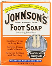 Johnsons Foot Care Foot Soap, Large, 8 Count