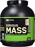 Optimum Nutrition Serious Mass Sports Supplement, 2.73 kg, Cookies and Cream