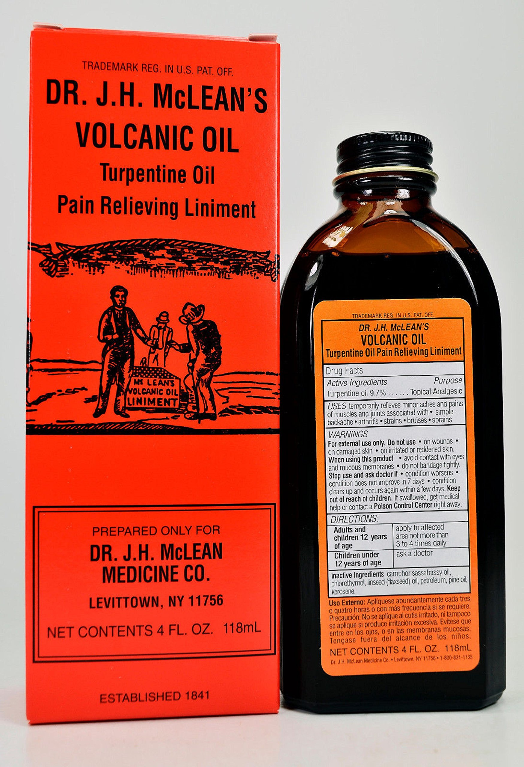 Turpentine ointment: use for children