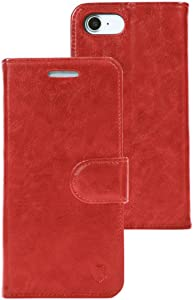 RadiArmor Anti-Radiation Case - Compatible with iPhone 7, iPhone 8, and New 2020 Model iPhone SE – Lab Certified EMF Protection (Red)