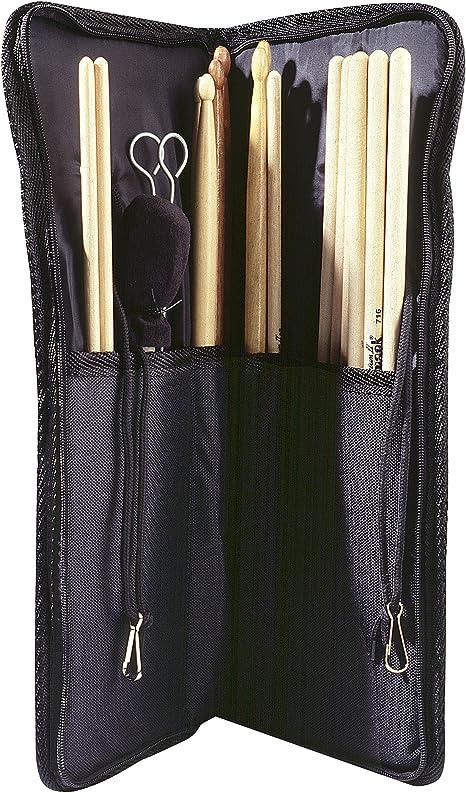 Stagg DS04 - Estuche de baquetas para baterías, color negro: Amazon.es: Instrumentos musicales