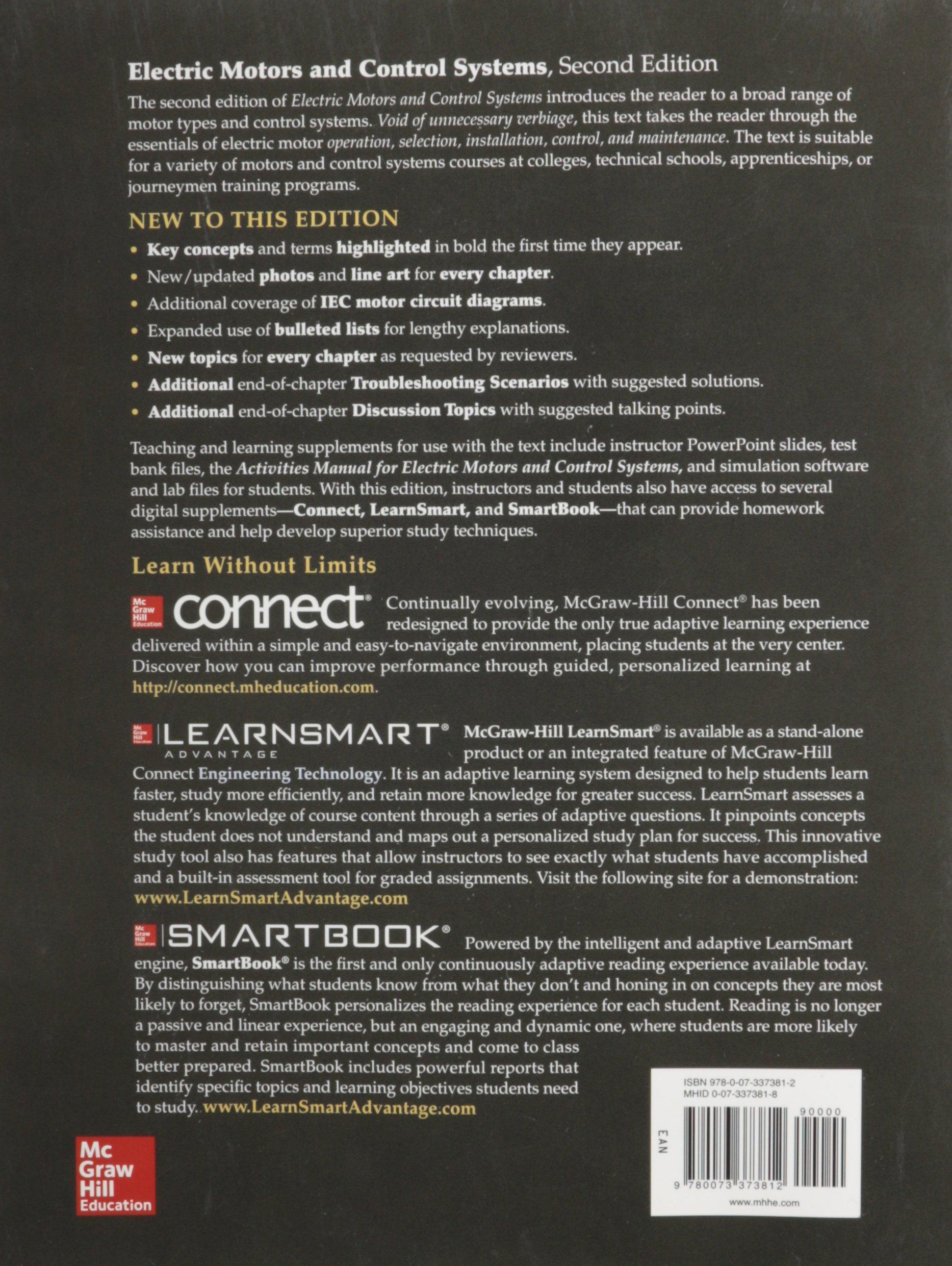 Electric Motors and Control Systems: Frank D. Petruzella ...