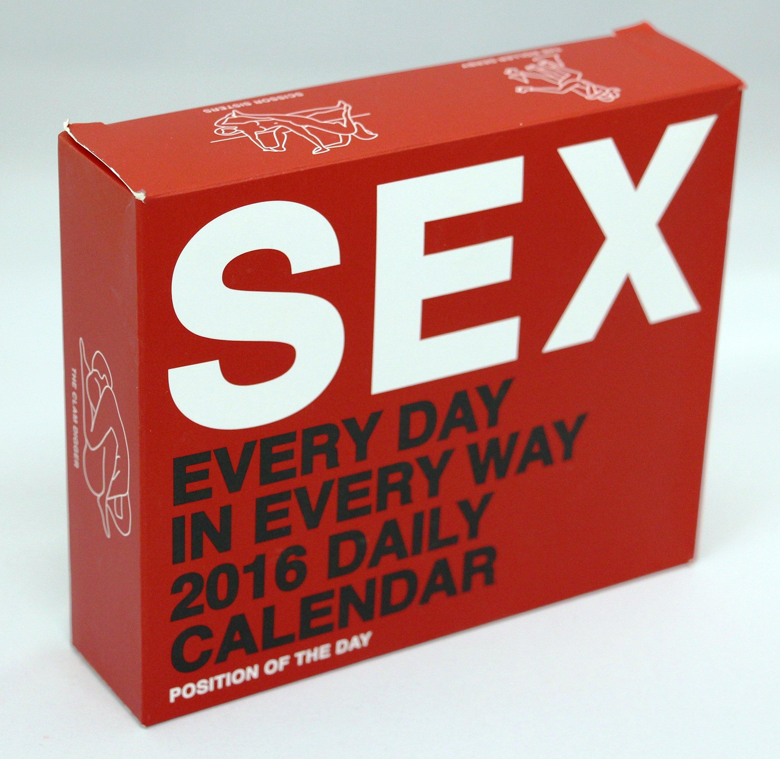 Sexual positions calendar