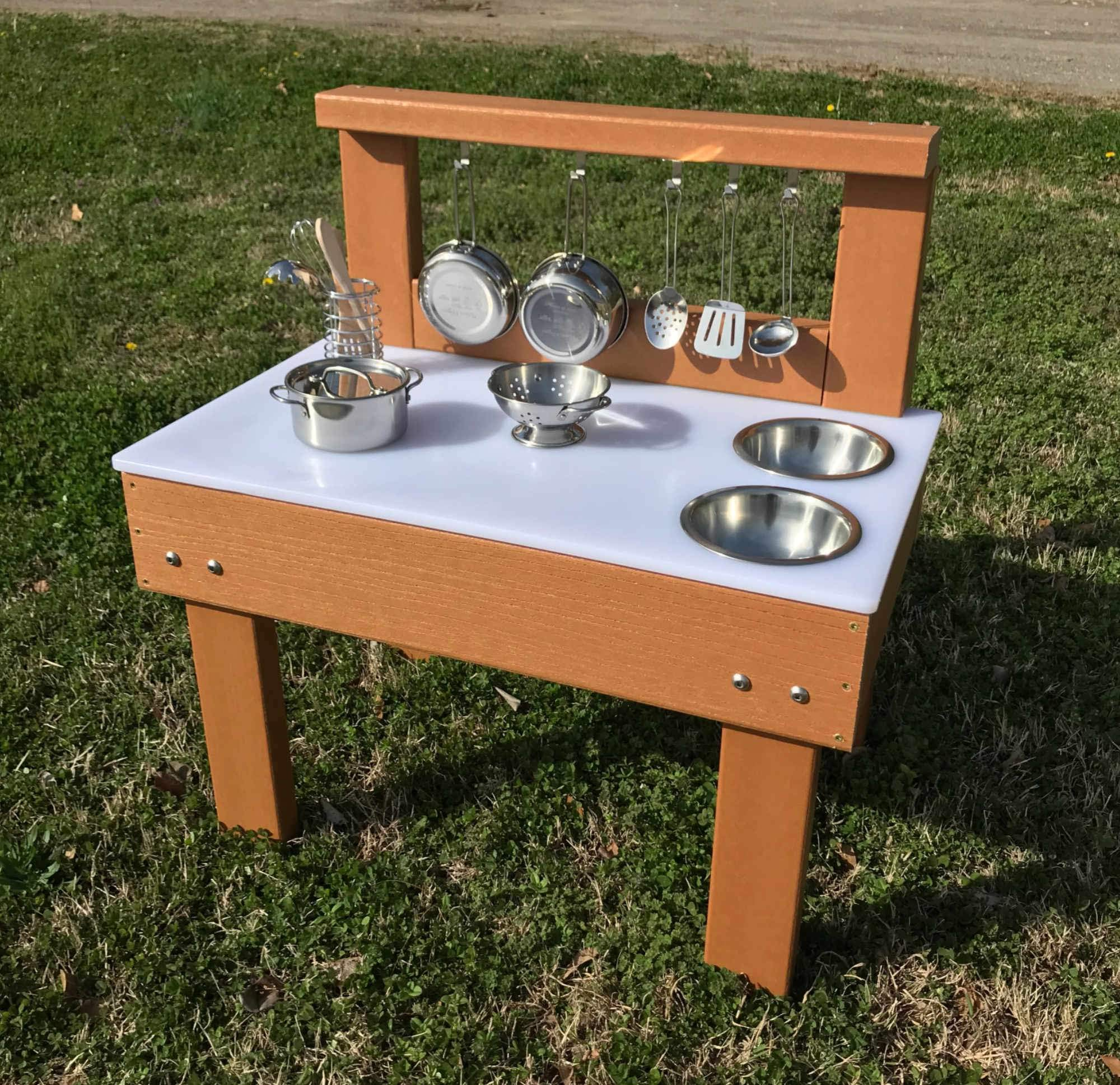 Kids' Station Indoor/Outdoor Toddler Kitchen by Kid's Station Outdoor (Image #2)
