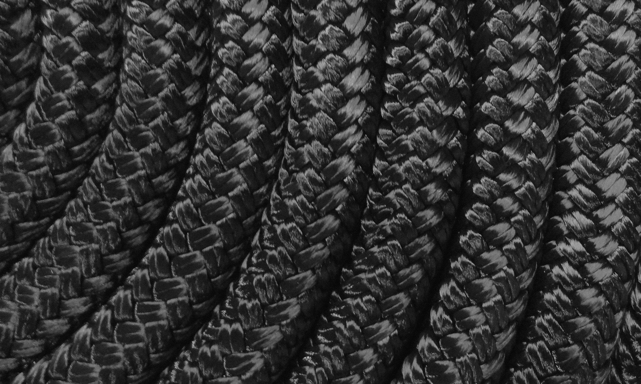 Miami Cordage NYB126C1 Nylon Double Braid 1/2 in x 600 ft Black