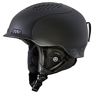 K2 Diversion Ski Helmet, Black, Small: Sports & Outdoors