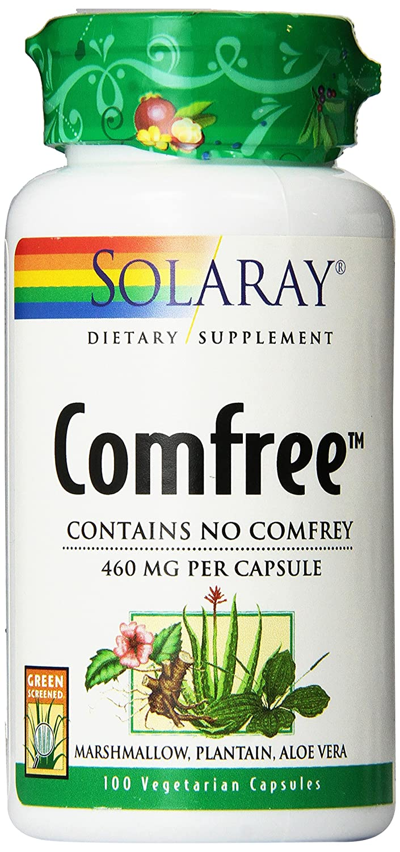 Amazon.com: Solaray Comfree Capsules, 460 mg, 100 Count: Health & Personal Care