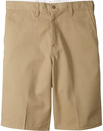 ce7b83e731 Dickies Occupational Workwear LR303DS Polyester/Cotton Relaxed Fit Men's  Industrial Flat Front Short with Button