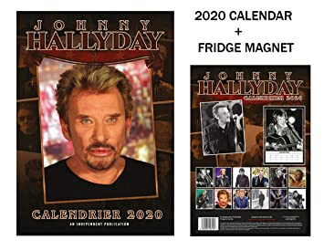 Johnny Calendrier 2020french Hallyday 2020french Hallyday Johnny Calendrier Edition PXukiZ
