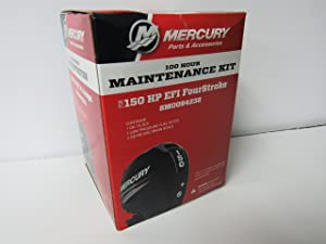 OEM Mercury 100 Hour Maintenance Kit for 150HP EFI FourStroke Outboard 8M0094232