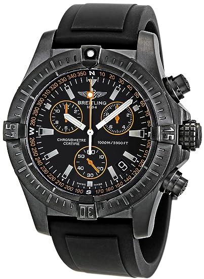 Breitling de hombre m73390t2/ba88bkpt Avenger Seawolf Cronógrafo Reloj: Breitling: Amazon.es: Relojes