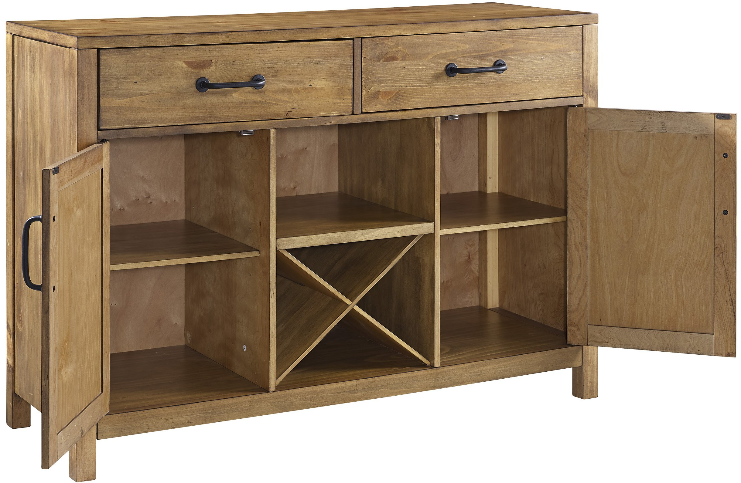 Crosley Furniture Roots Buffet Dining Room Storage - Natural by Crosley Furniture (Image #2)