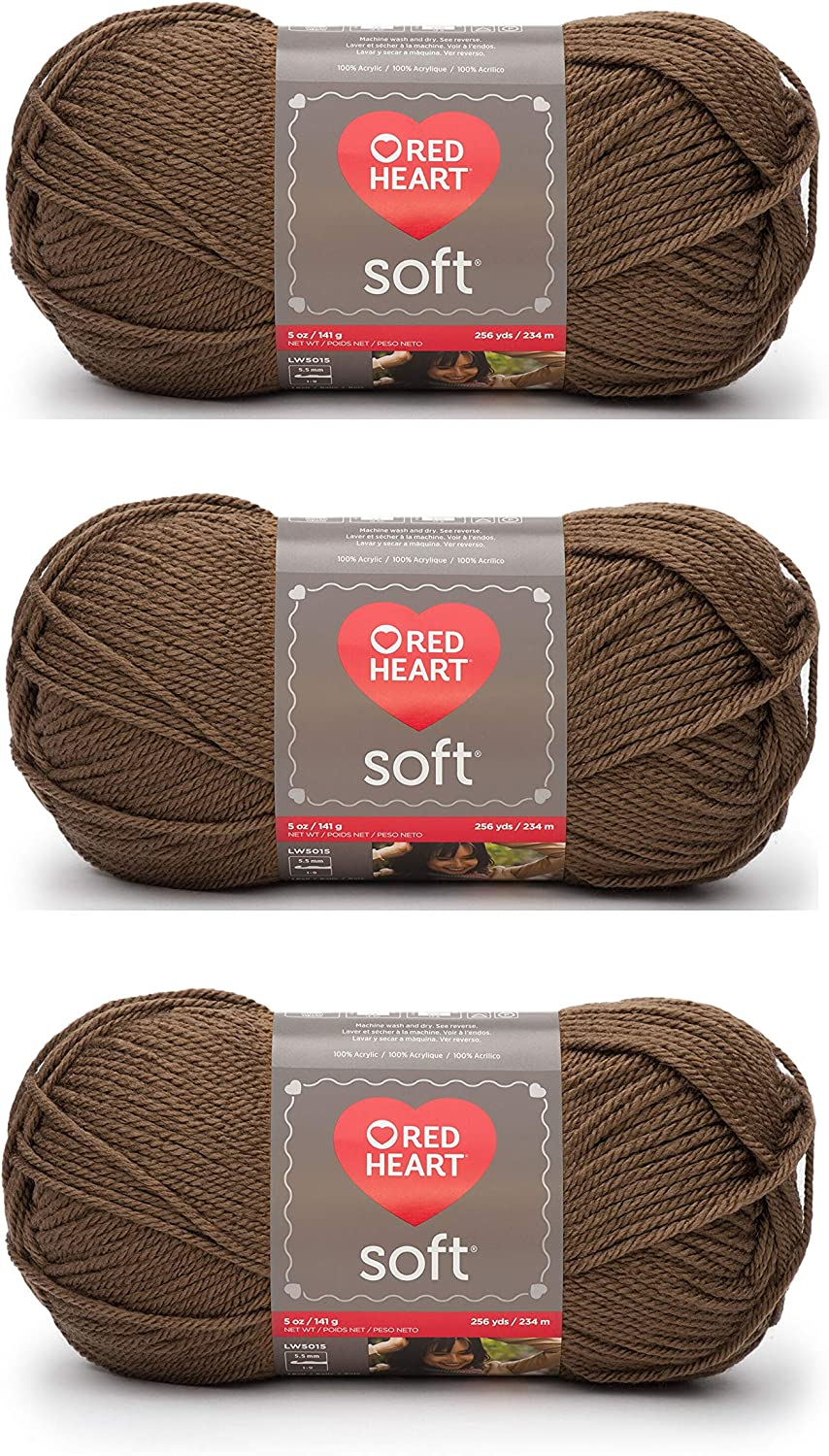 Red Heart E728-1882 Red Heart Soft Yarn - Toast