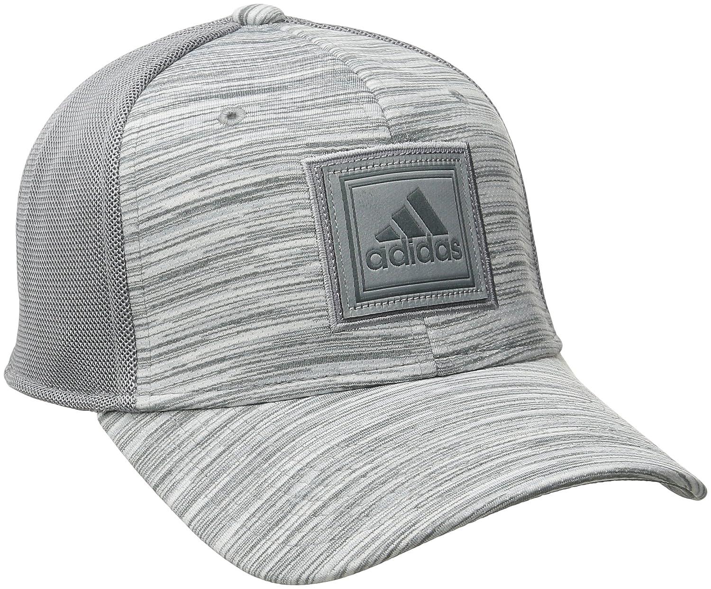 730410e5 Amazon.com: adidas Men's Veteran Stretch Fit Structured Cap, Small/Medium,  Grey/Onix Free Run: Sports & Outdoors
