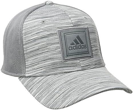 56ae0807469 Amazon.com  adidas Men s Veteran Stretch Fit Structured Cap