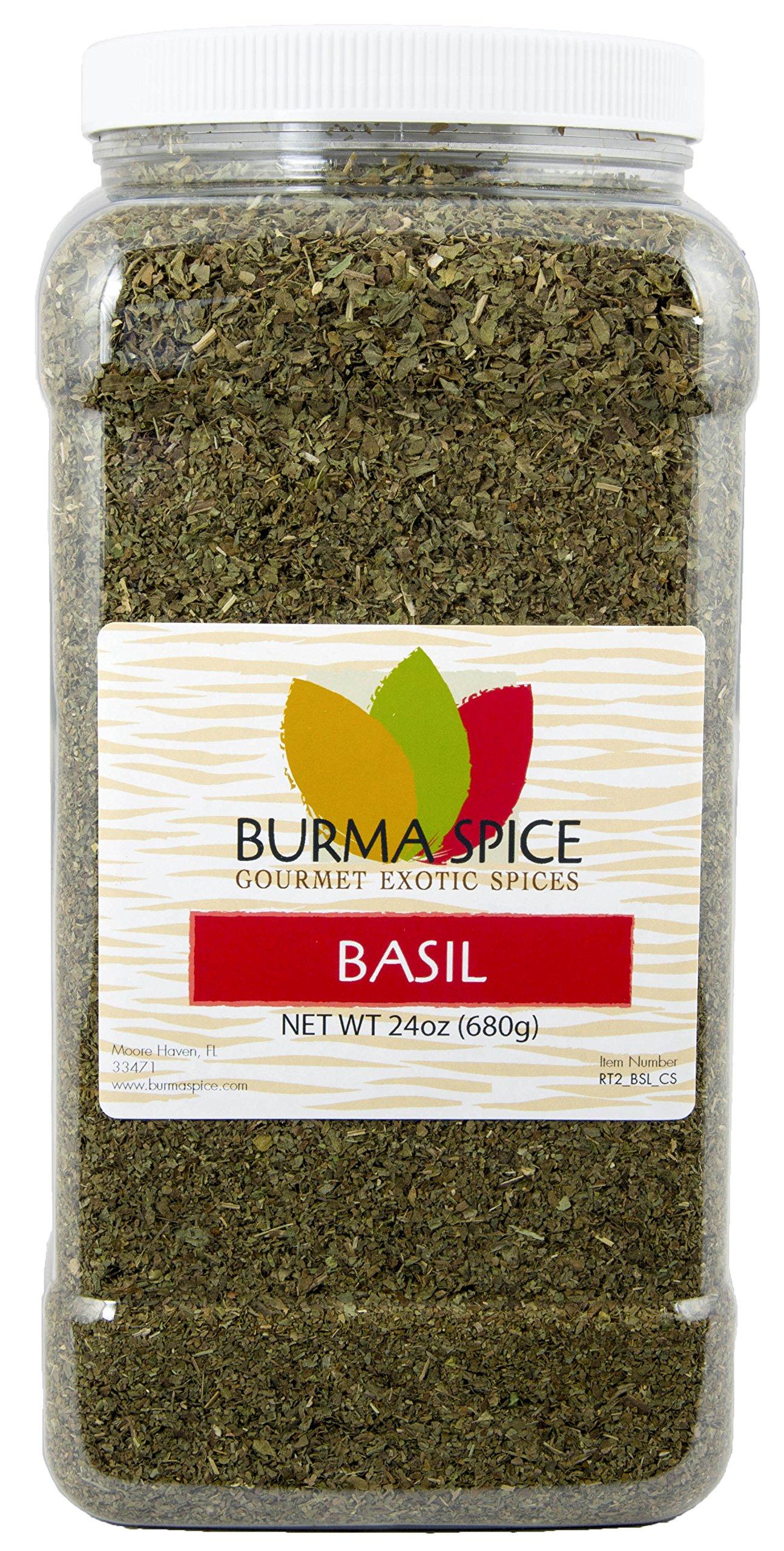 Dried Basil Leaves Herb Seasoning Kosher (24oz.)