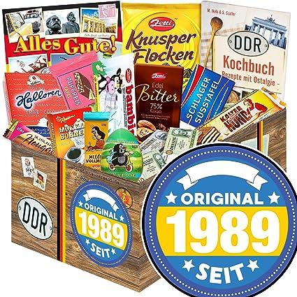 Original Seit 1989 Geschenke Zum 30 Geburtstag Schokoladen Box Ostpaket