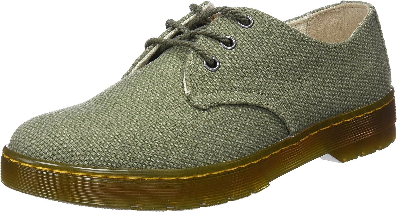 Dr. Martens Delray, Zapatos de Cordones Derby para Hombre, Verde ...
