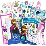 Disney 冰雪奇缘贴纸和纹身派对礼品套装(400 张贴纸,50 张临时纹身,门框)