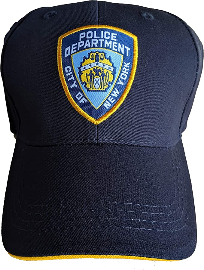 New NYPD Men/'s Embroidered Navy Knit Beanie Hat OSFA New York Police Department