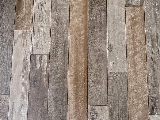 9,95/€//m/² PVC Bodenbelag in rustikalem Holzdesign kleines Muster