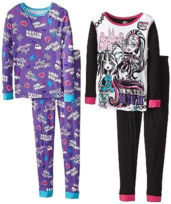 57a0e41435 ... big sale 861c8 9852e Monster High Big Girls Character 4-Piece Sleep  Set