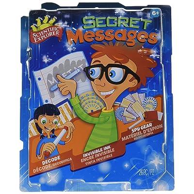 Scientific Explorer Secret Messages Kit: Toys & Games