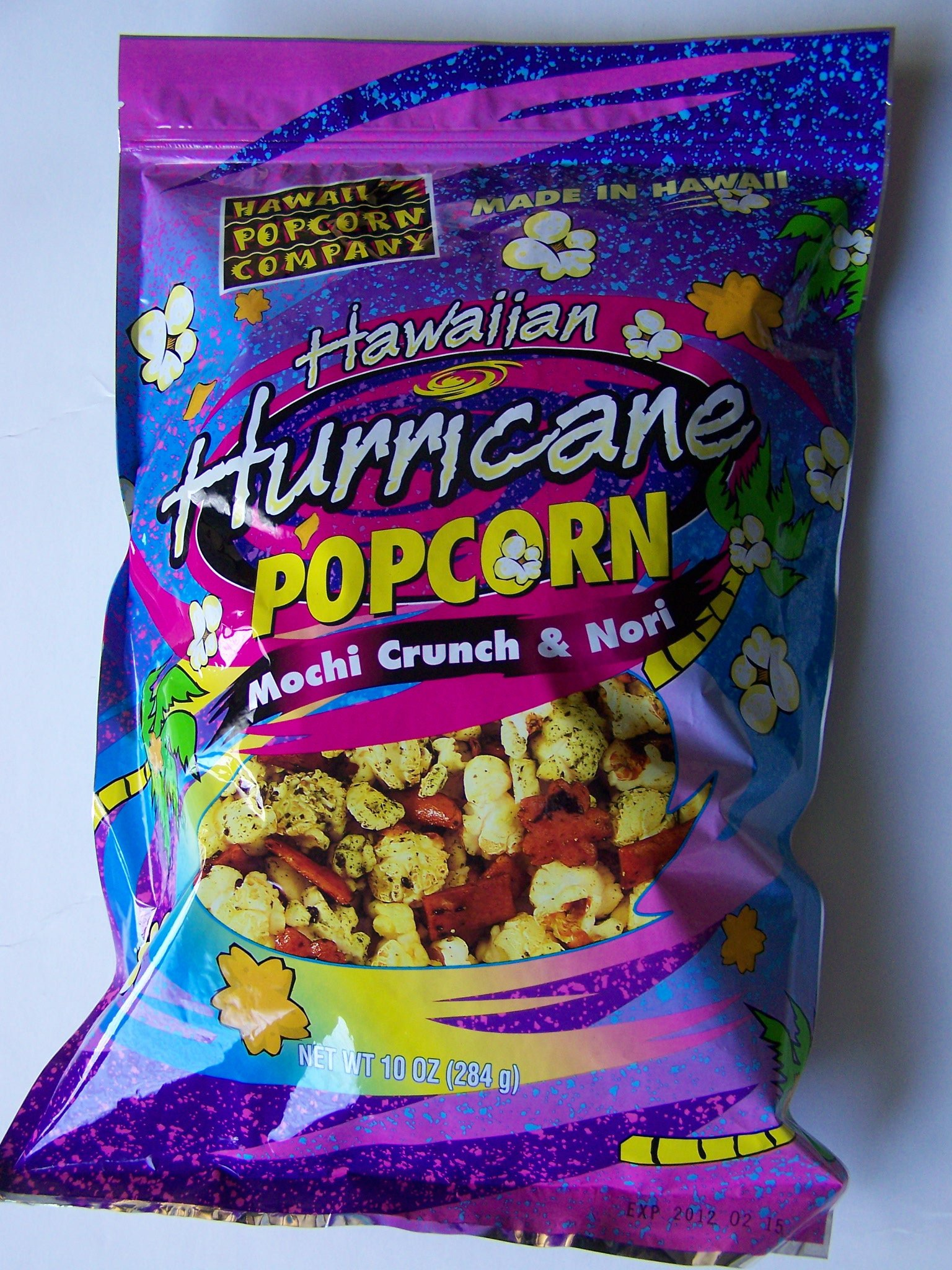 Hawaiian Hurricane Popcorn Mochi Crunch & Nori 10 Oz.