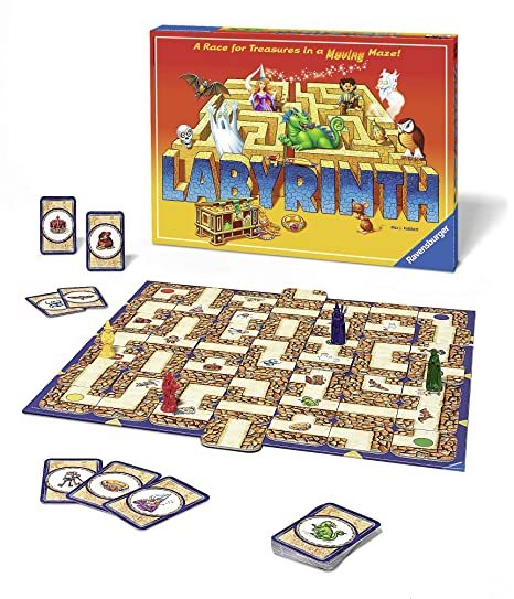 graphic relating to Vale Design Free Printable Maze identify Ravensburger Labyrinth Household Board Recreation for Young children Grown ups Age 7 Up - Tens of millions Offered, Uncomplicated in direction of Discover Engage in with Suitable Replay Price
