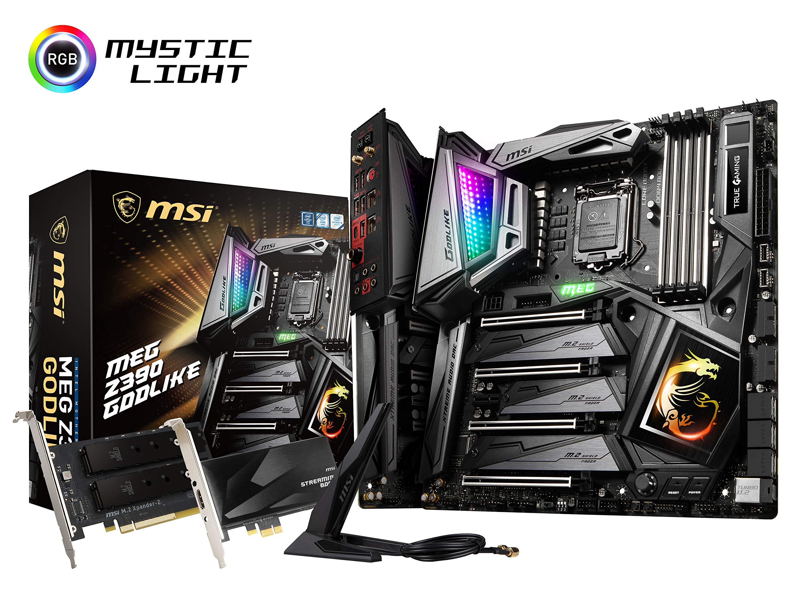 MSI MEG Z390 GODLIKE LGA1151 (Intel 8th and 9th Gen) M.2 ...