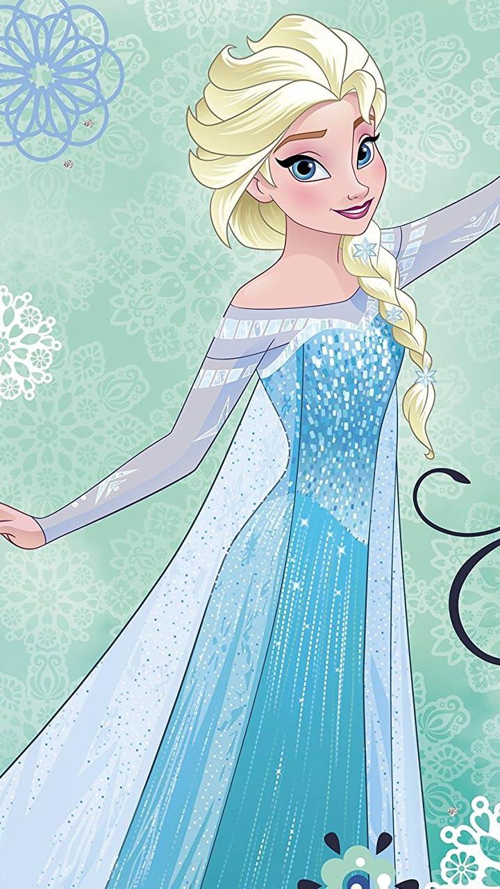 ディズニー アナと雪の女王 エルサ HD(720×1280)壁紙画像
