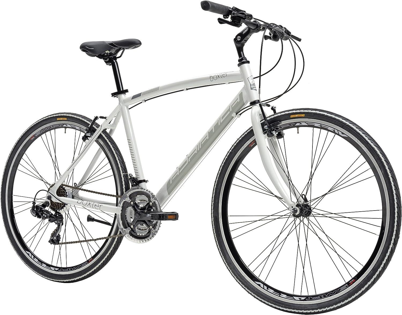 Adriatica - Bicicleta híbrida Boxter de hombre con cuadro de ...
