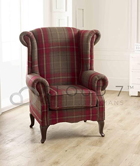 Cloud 7 Sleep for Humans Henry Poltrona in tartan rosso
